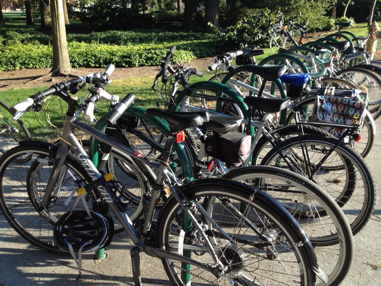 'U' Shape bike rack