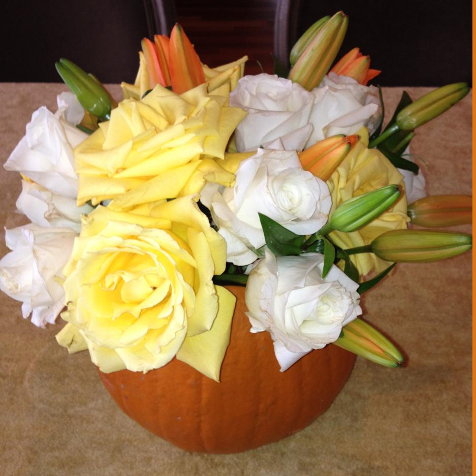Pumpkin Flower Bouquet