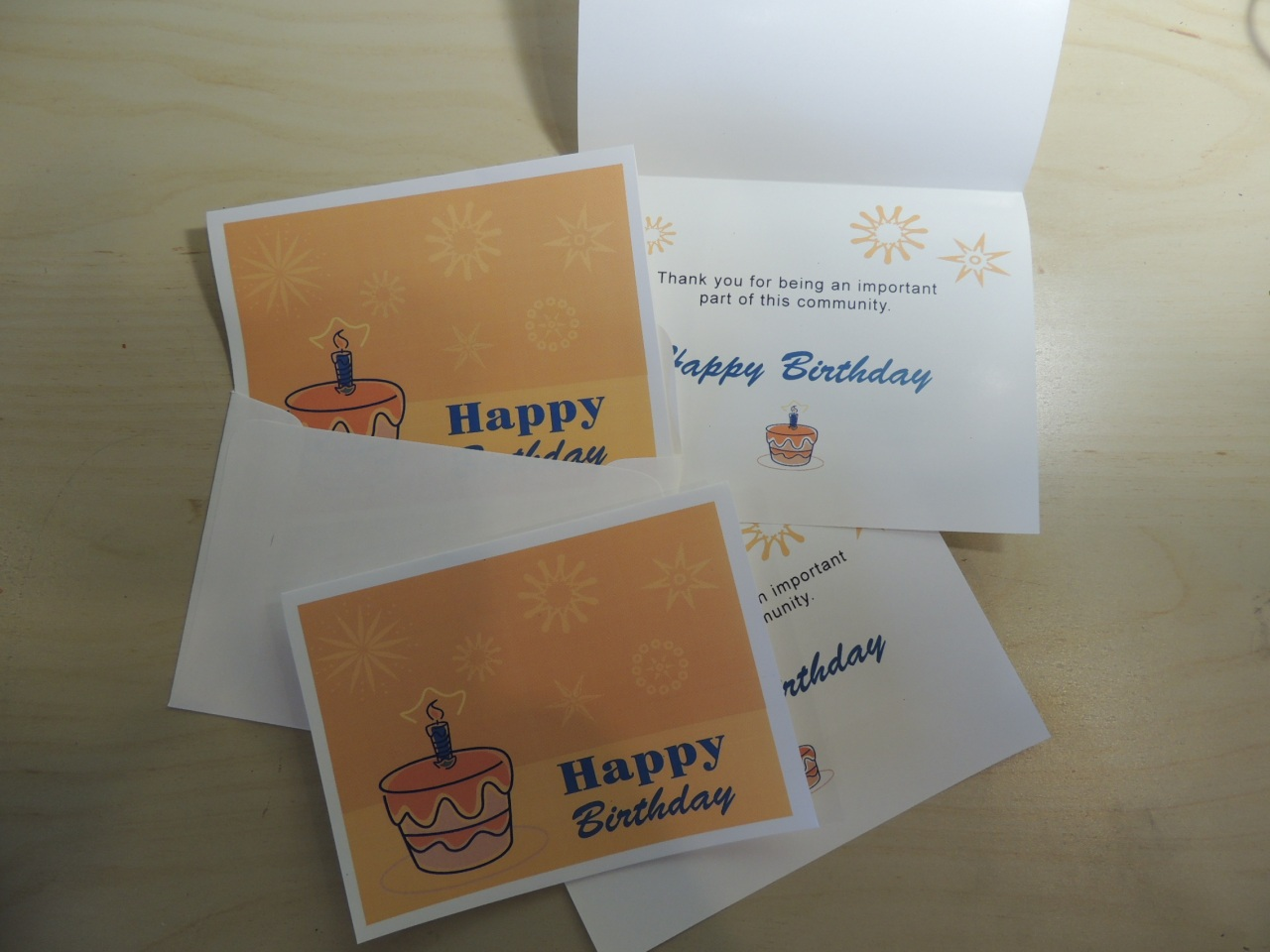Free Birthday Card Printable for Residents from EasyWayApartments
