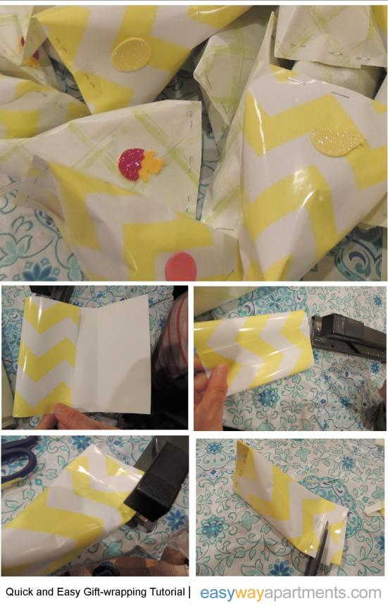 Tutorial A Quick Easy And Pretty Way To Wrap A Lot Of