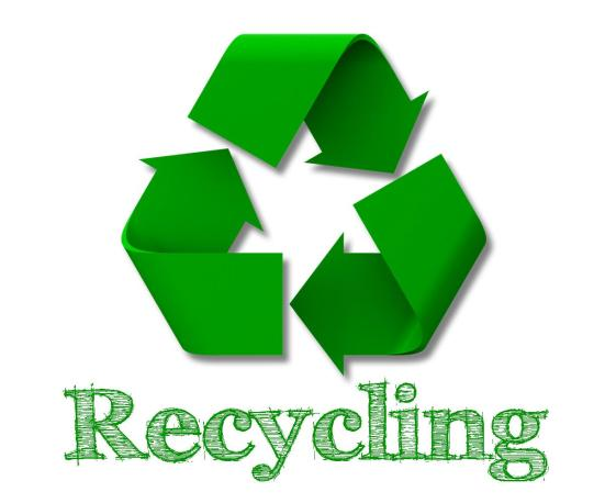 FREE printable recycling sign | EasyWayApartments.com