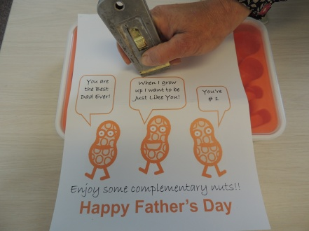 Fathers Day Complementary Nuts from EasyWayApartments007