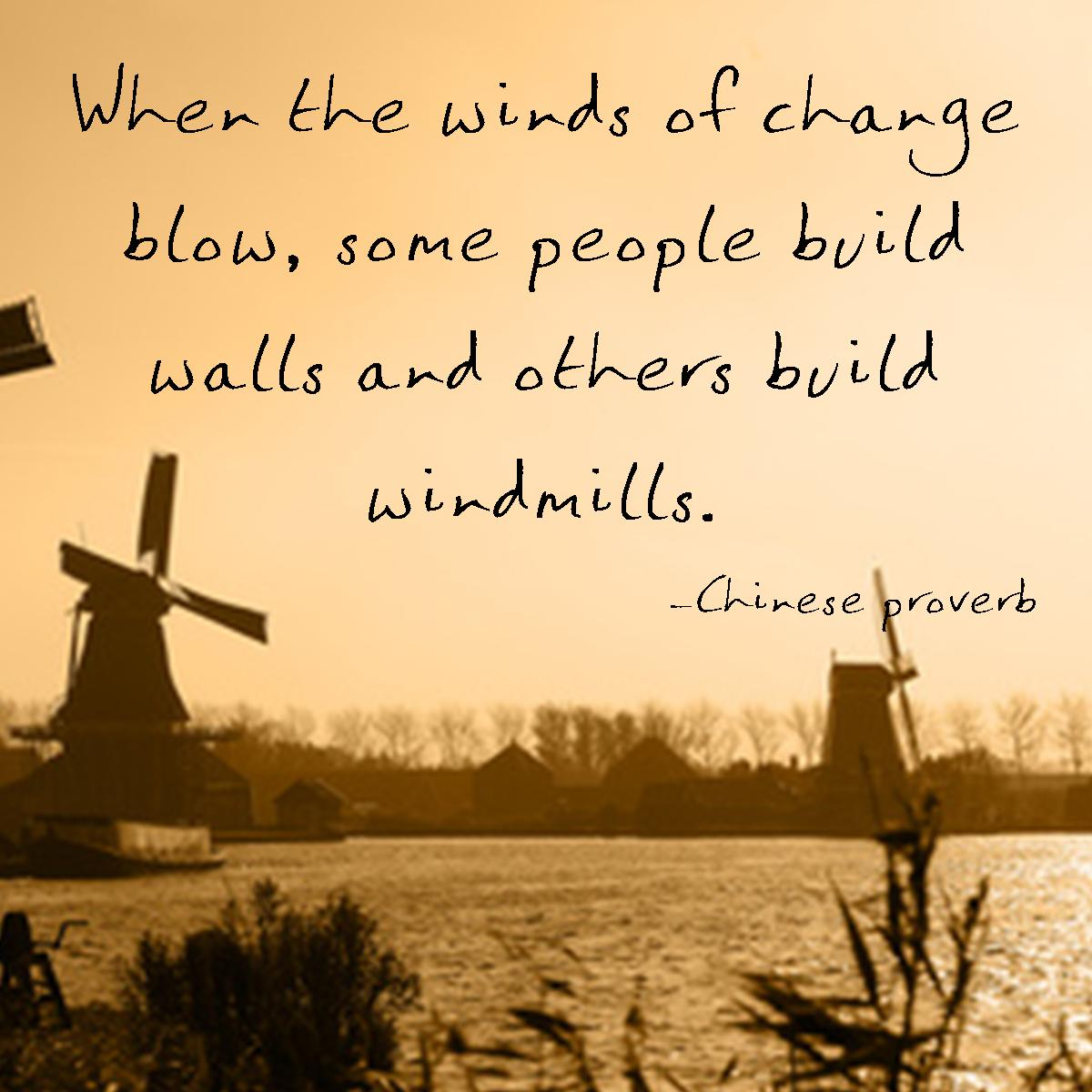 build windmills