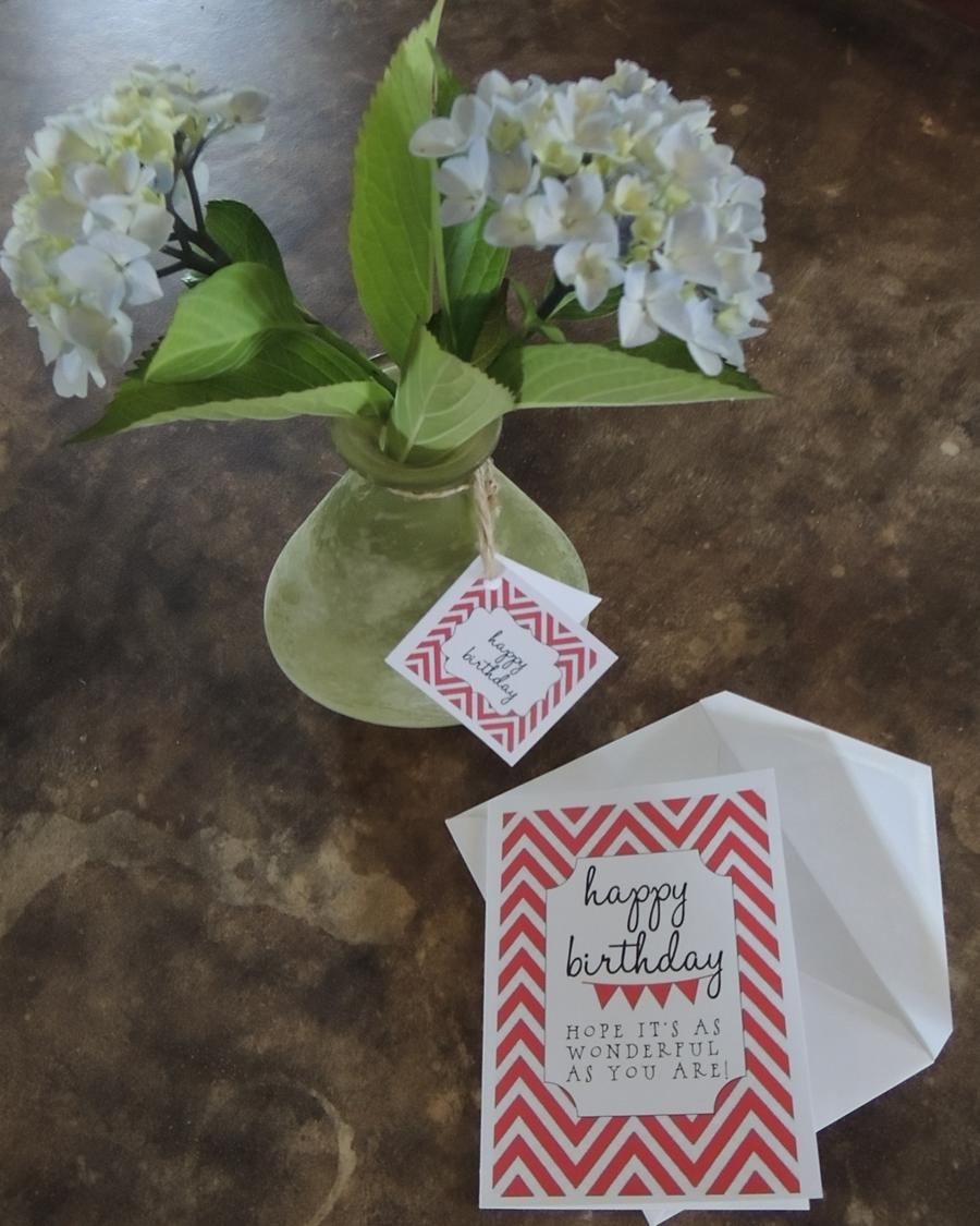 Cute, Easy and Inexpensive BirthdayGift