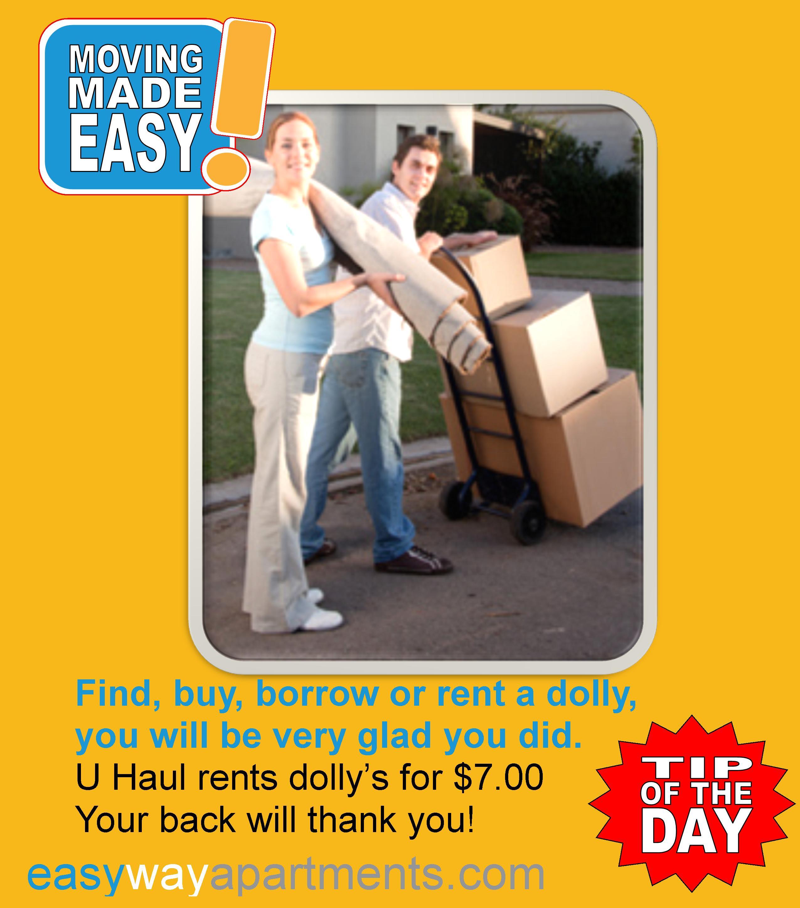 #moving Made Easy Tip | Find, Buy, Borrow Or Rent A #dolly
