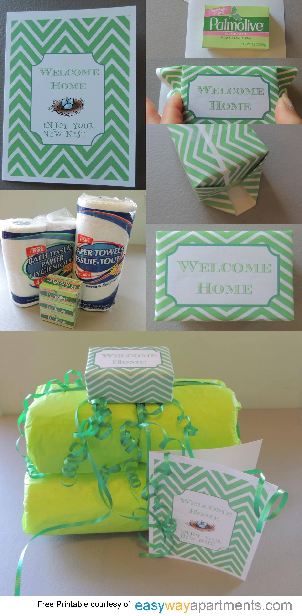 Housewarming Gift |Tutorial and Printable