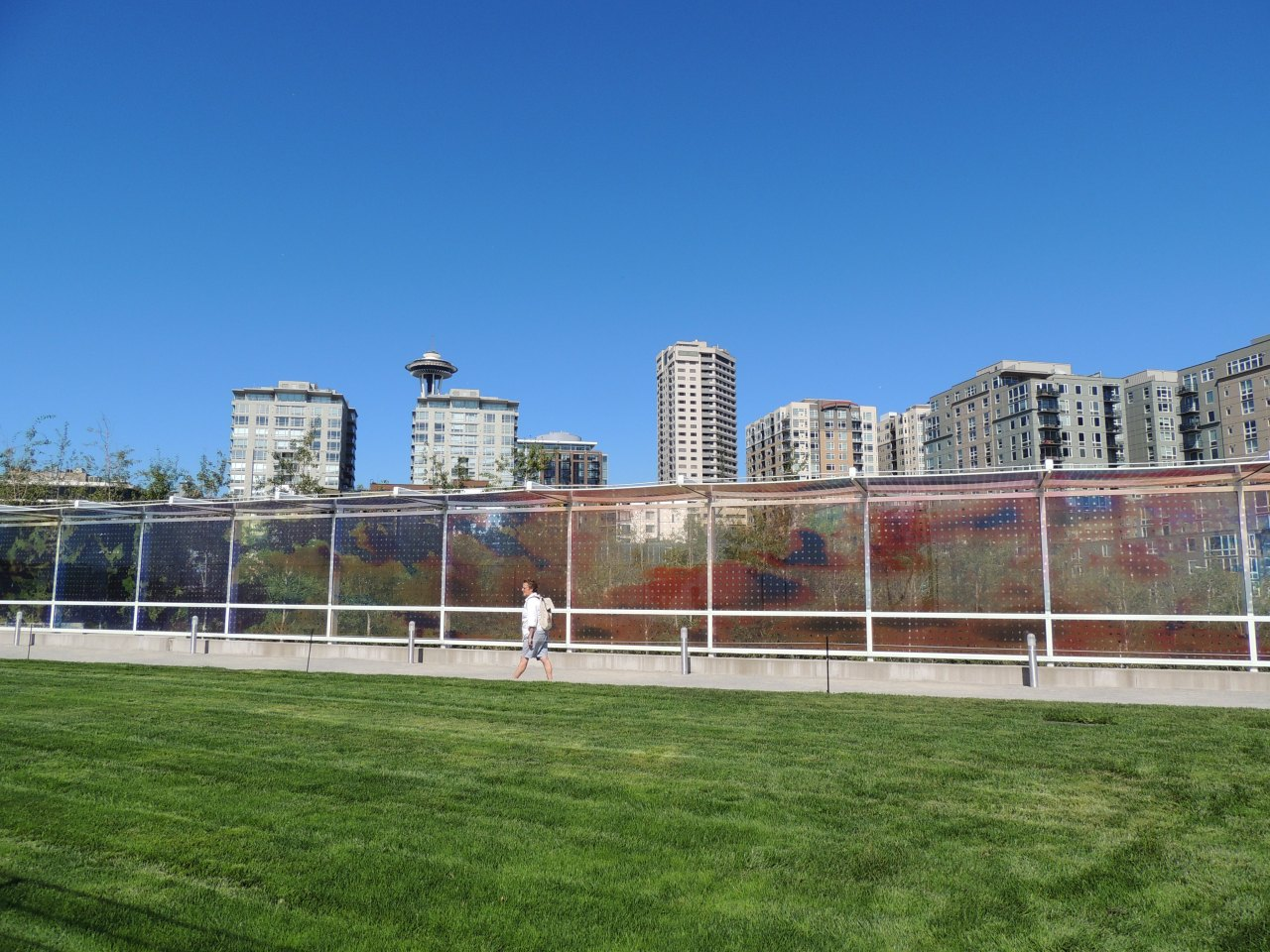 Downtown #Seattle from #Olympic #Sculpture Park