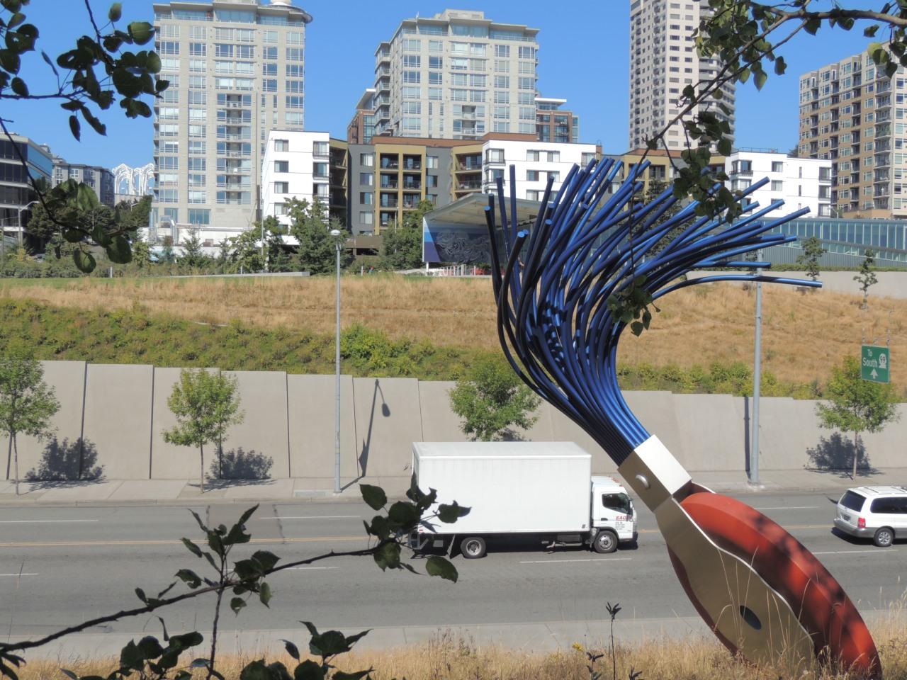 #Seattle #Eraser #Olympic #Sculpture Park