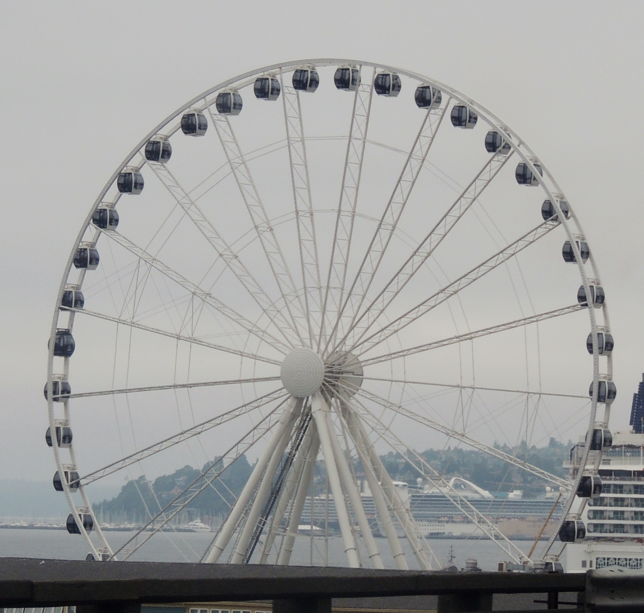 Out and About| Seattle Waterfront and Pike Place Market #ferriswheel