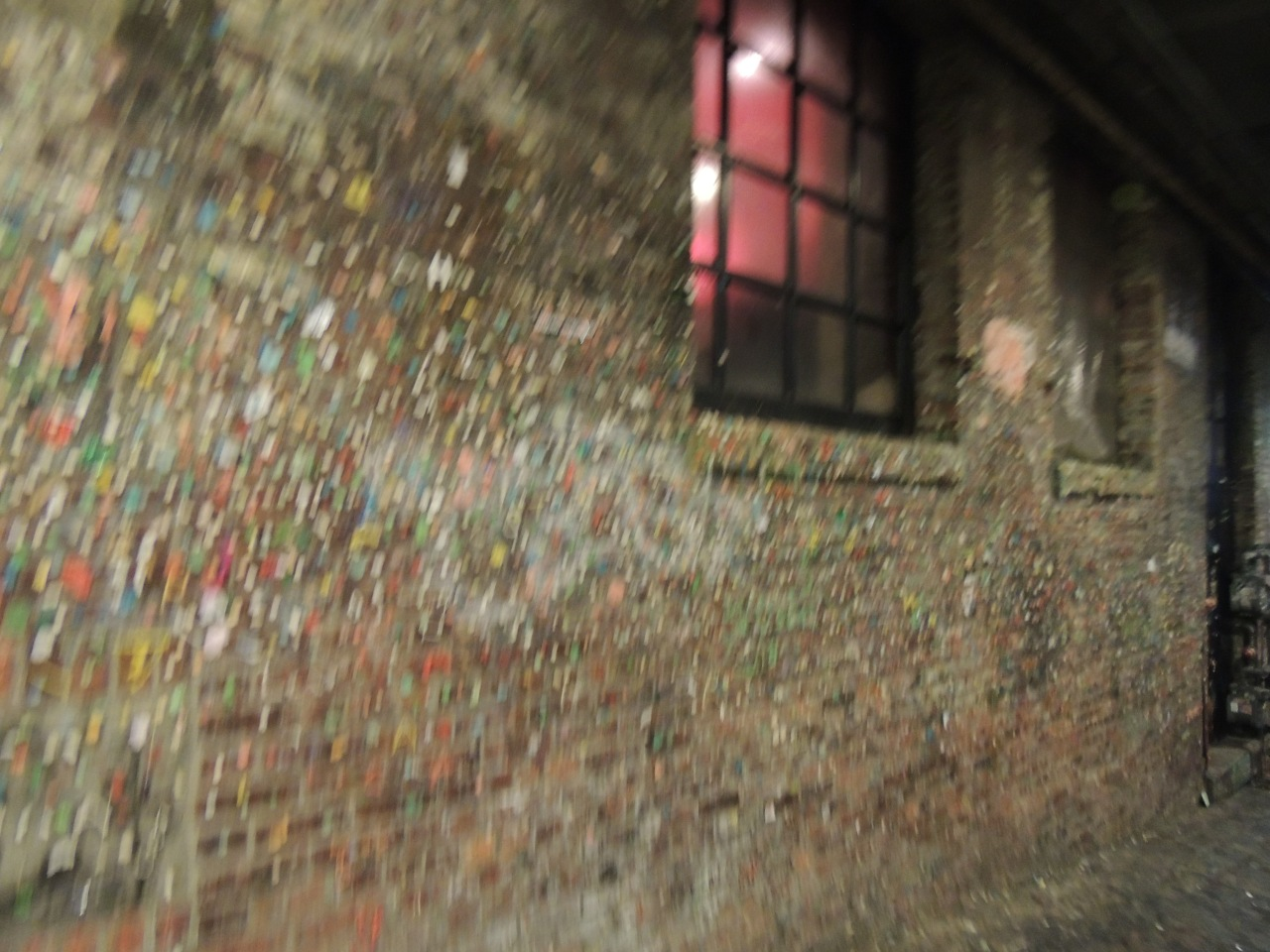 Out and About| Seattle Waterfront and Pike Place Market #gum wall