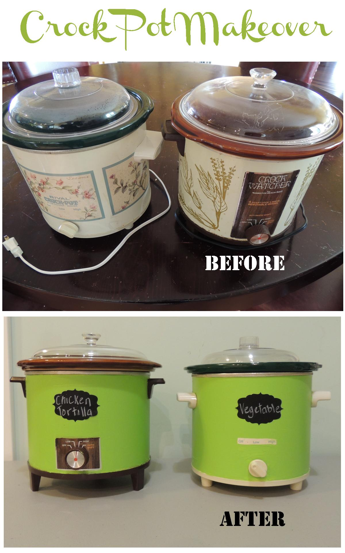 Crock pot makeover