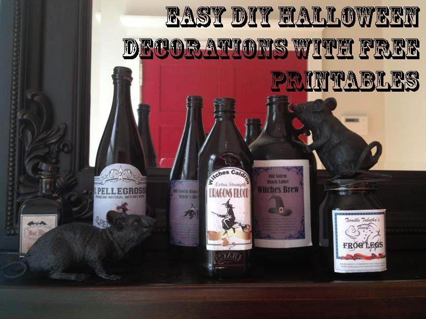 Halloween Witches Brew and Other Spooky Concoctions |DIY