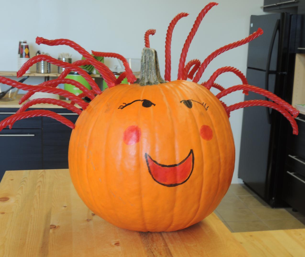 How to make a LicoricePumpkin