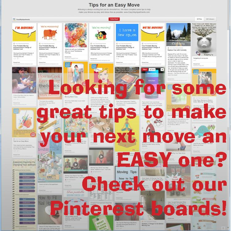 Looking for some great #tips to make your next #move an EASY one Check out our #Pinterest boards