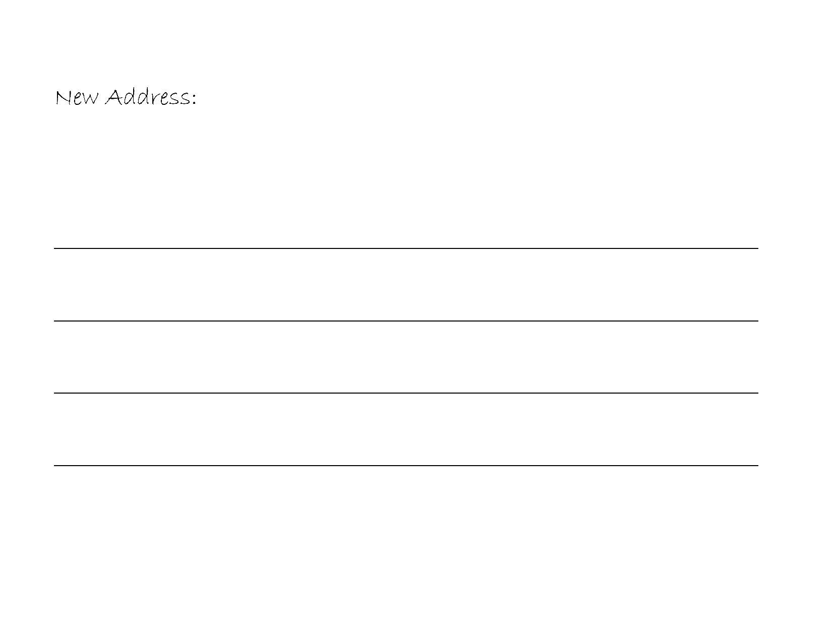 Free Change Address sale letter pc repair sample resume