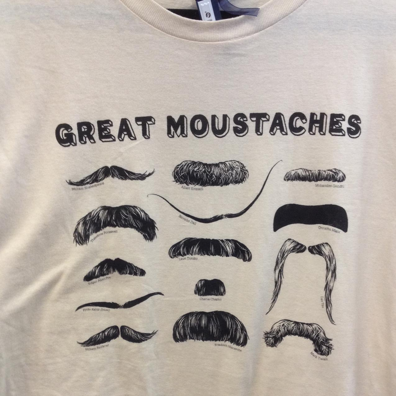 Great #Moustaches #Shakespeare #Einstein #Gandhi #Roosevelt #Dali and more