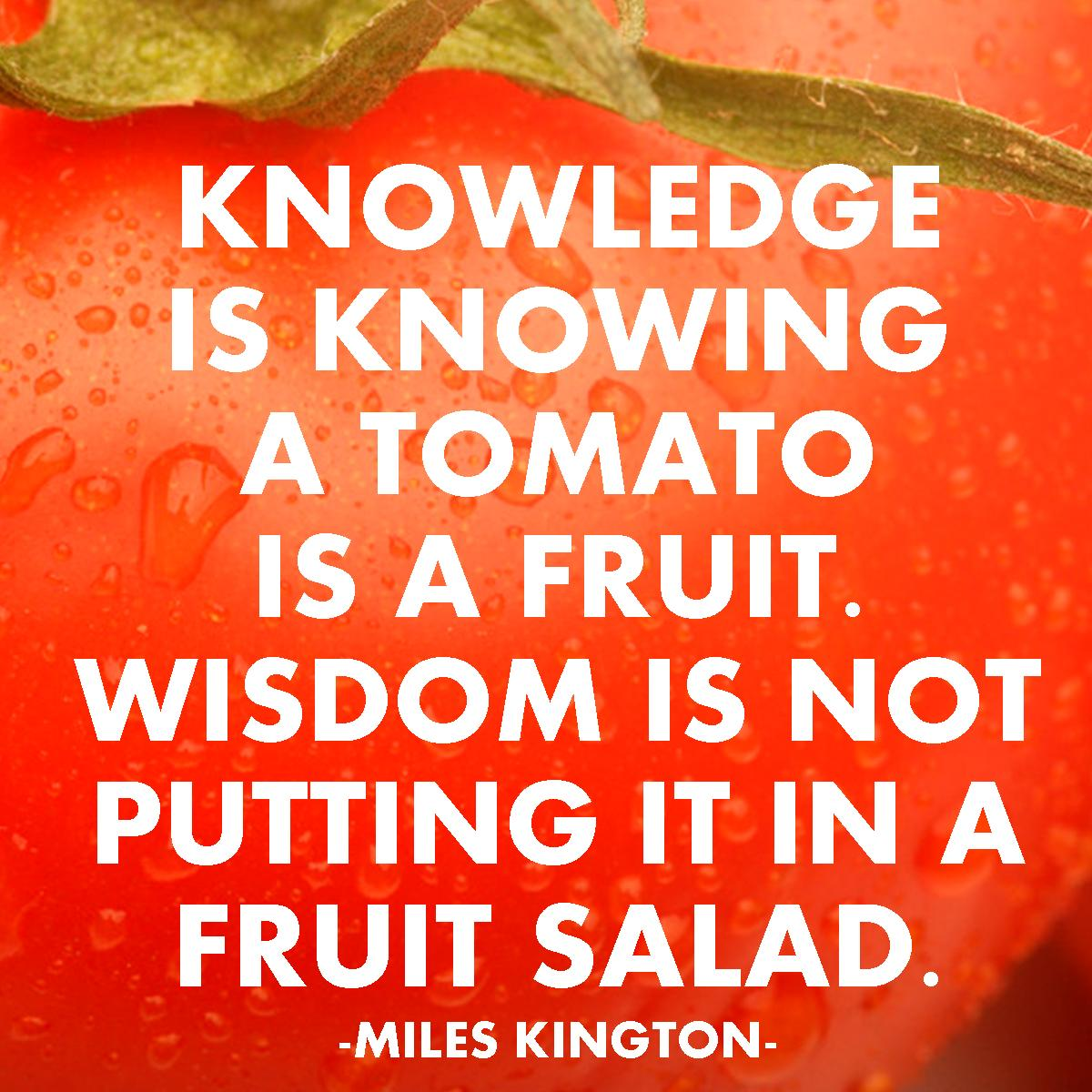 The Difference between Knowledge and Wisdom |Free Printable