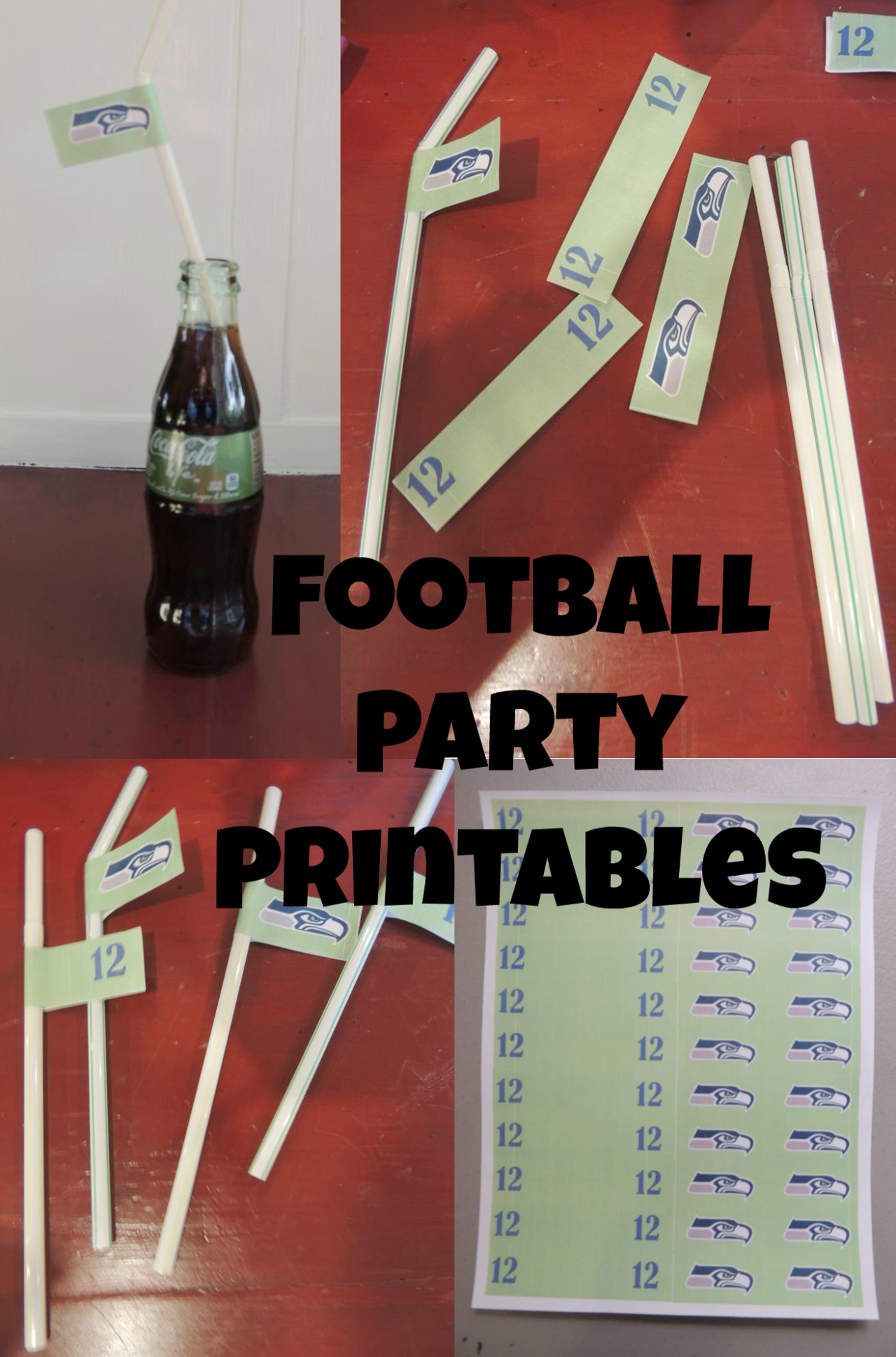 Seahawk Football Party Printables