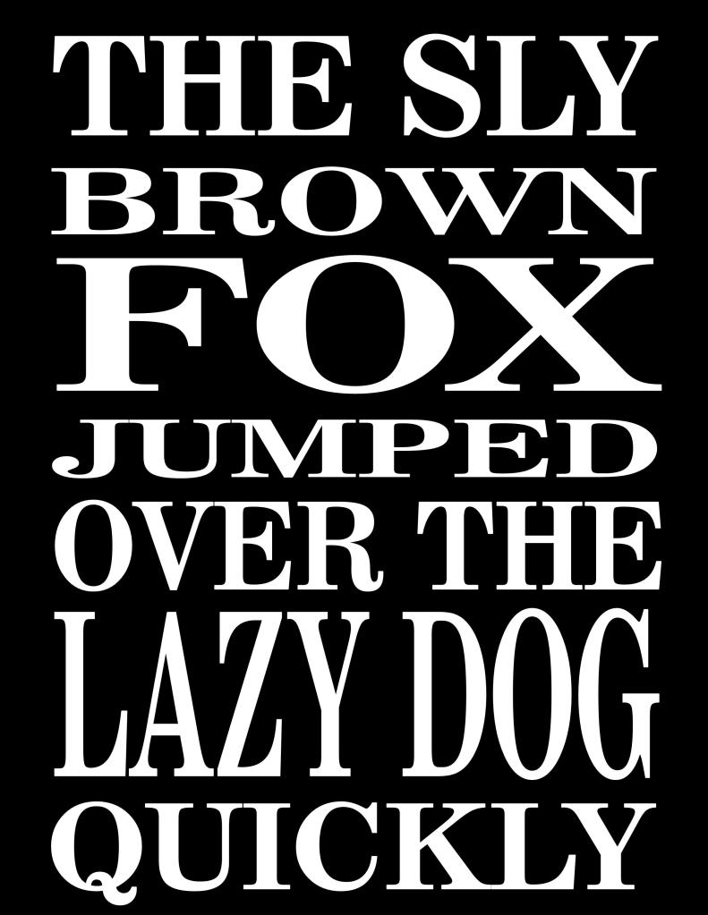 sly brown fox