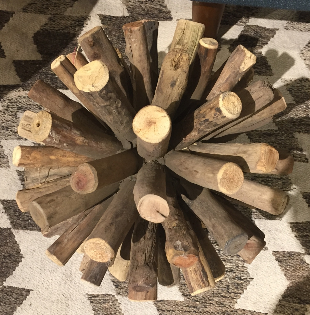 DIY Decorative Wood Branch Balls